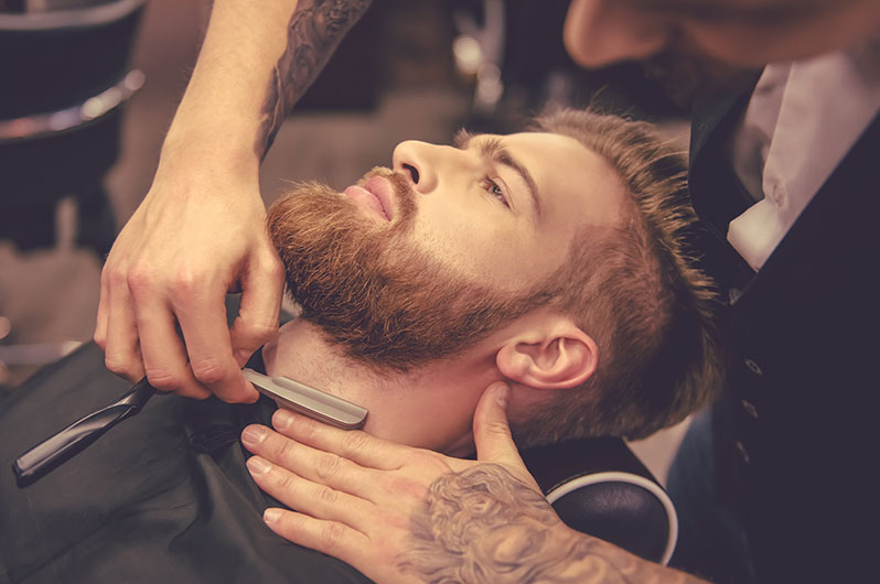 Ideal Hair at Priority Styles Straight Razer Shaving Services